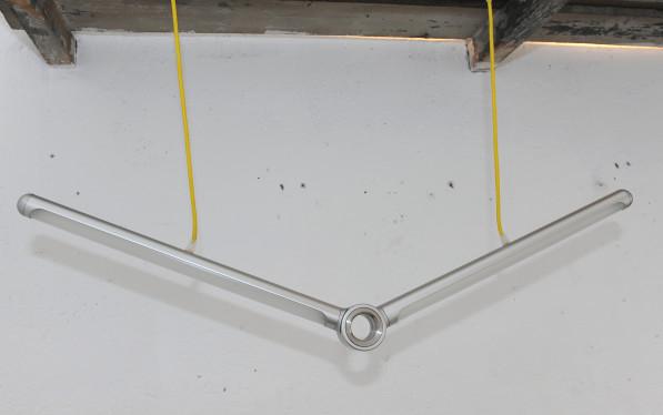 Sander Mulder Cyclops lamp aluminium uit