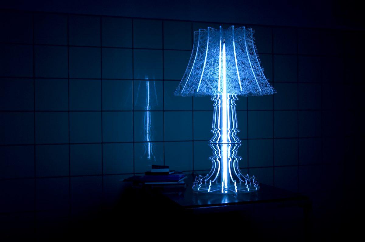 Sander Mulder Marie-Louise tafellamp blauw Gimmii