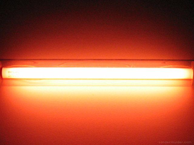 Sander Mulder Therese kroonluchter kleurfilter oranje