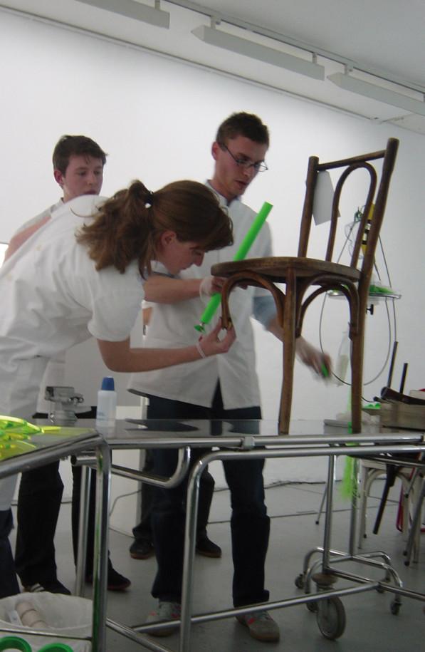 Reanimatie houten meubels