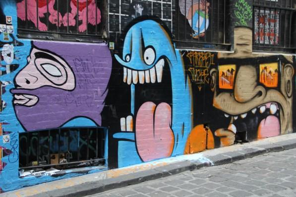 Grafitti Melbourne Gimmii