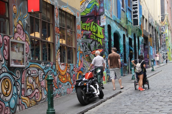 Hosier Lane Melbourne street art-Gimmii