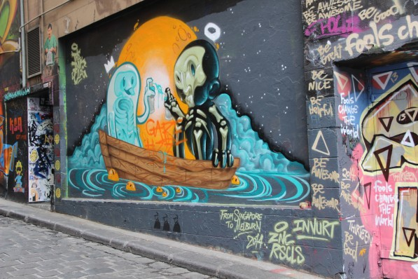 Hosier Lane Urban art