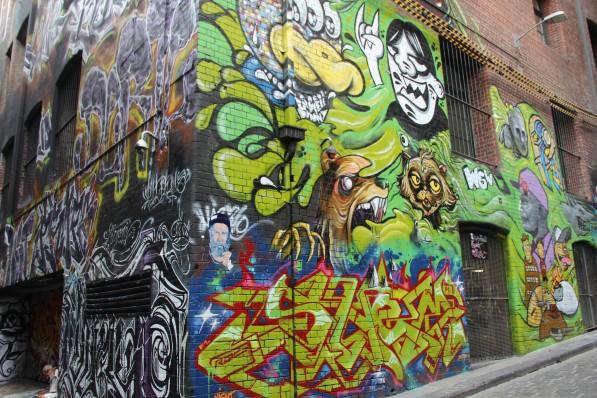 Melbourne Grafitti Gimmii