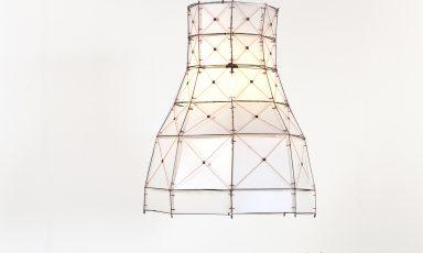 Architectonische lamp met 300 onderdelen