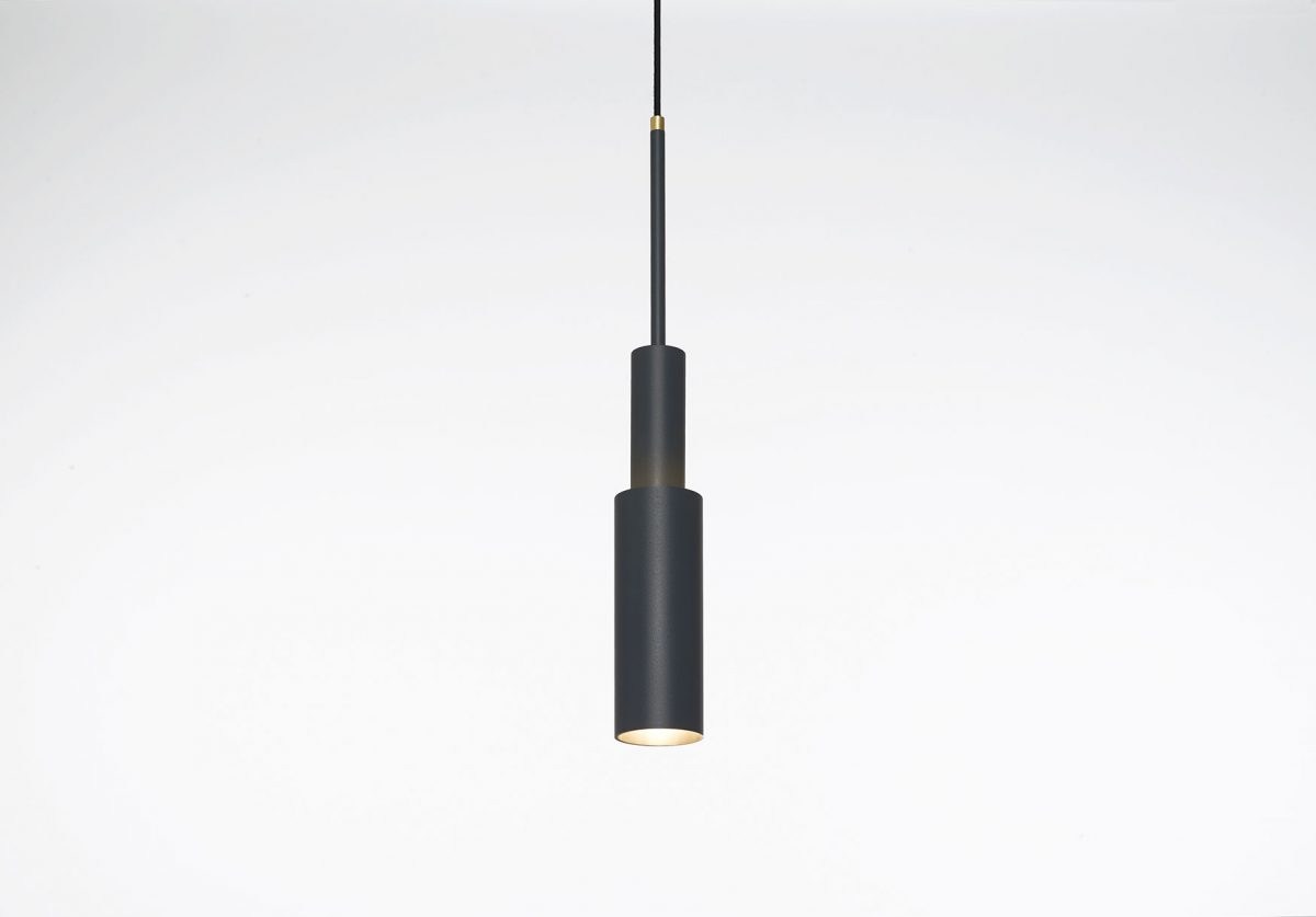 Frederik Roijé – SkyLight hanglamp dark grey Tower Two