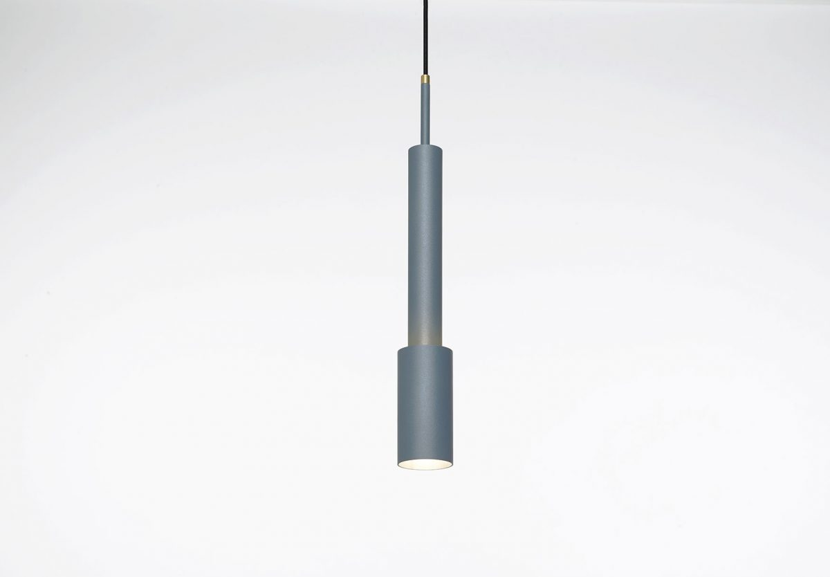 Frederik Roijé – SkyLight hanglamp metal blue Tower Three