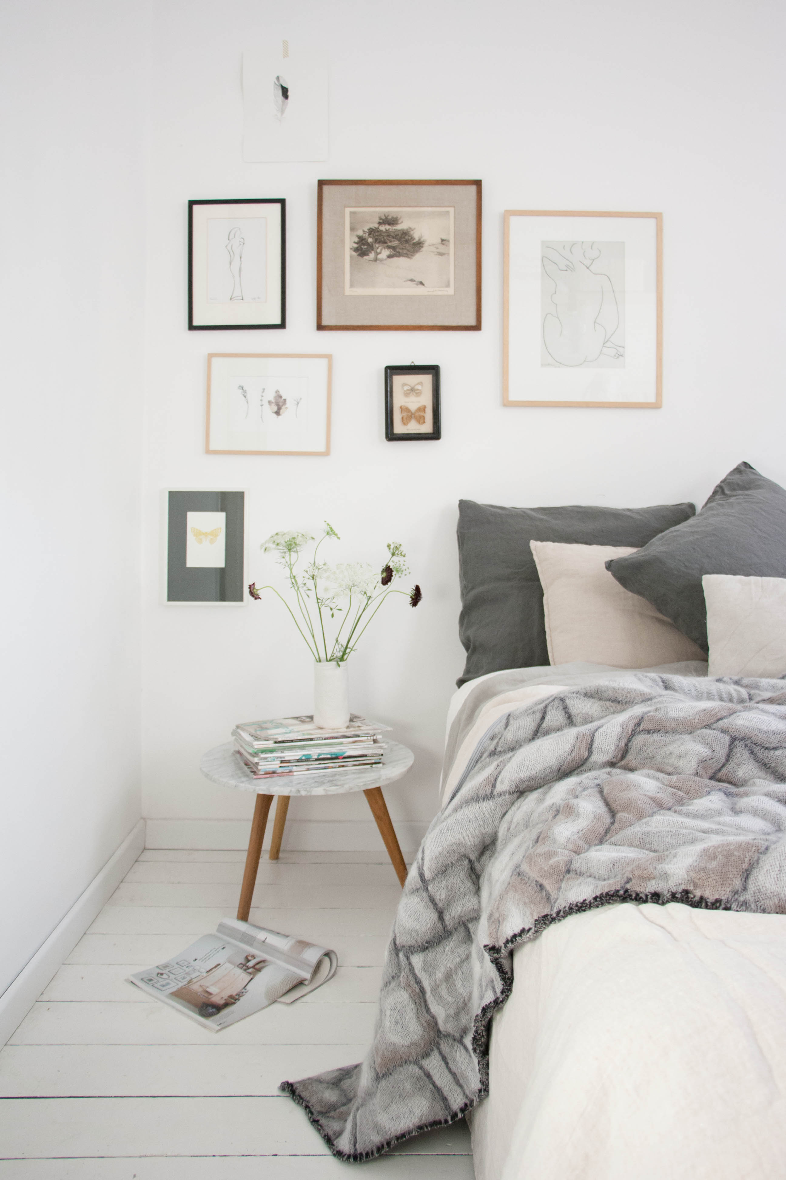 Nienke hoogvliet hide deken grijs kopen bestel online bij gimmii for Deco slaapkamer