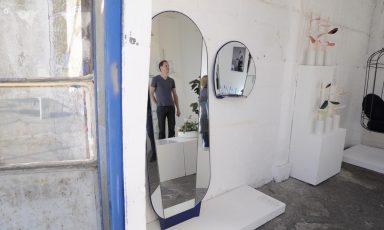 Split mirror
