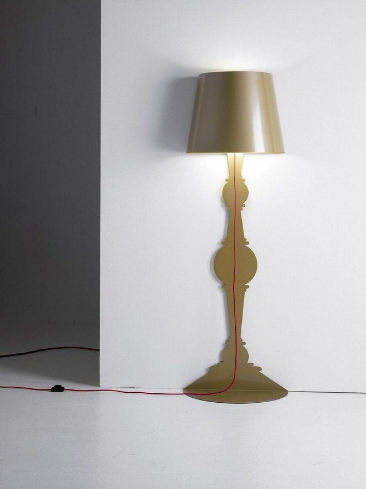 Vloerlamp Demi, mag het licht aan?