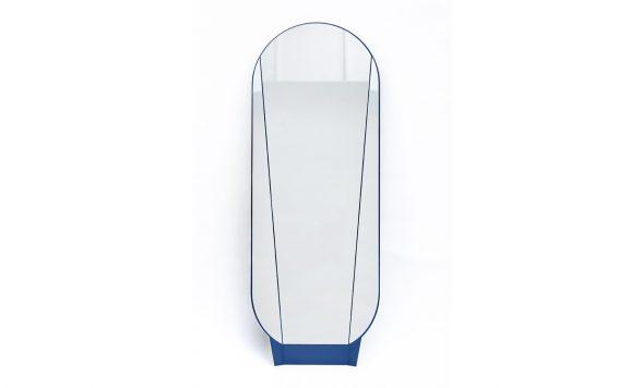 Split mirror staande spiegel