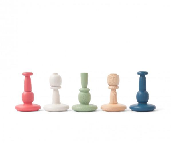 Tricola kandelaars alle kleuren Vij5