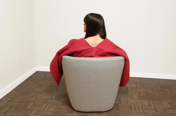 red-riding-hood-fauteuil van Hanna Emilie Ernsting