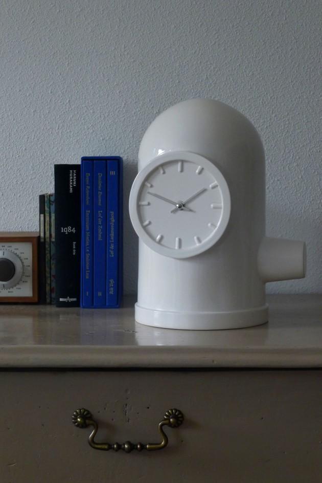 Base klok keramiek industrieel van Kranen/Gille voor Cor Unum