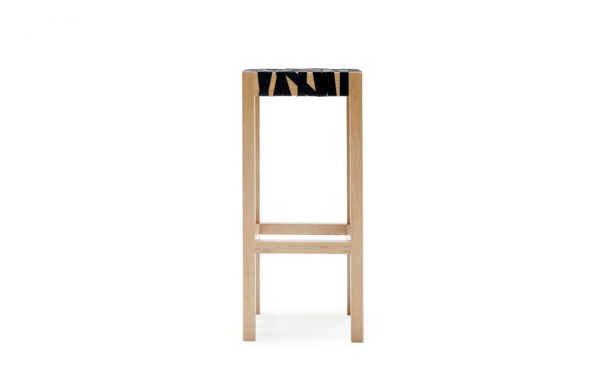 Gispen-Berlage-Barkruk-houtkleur