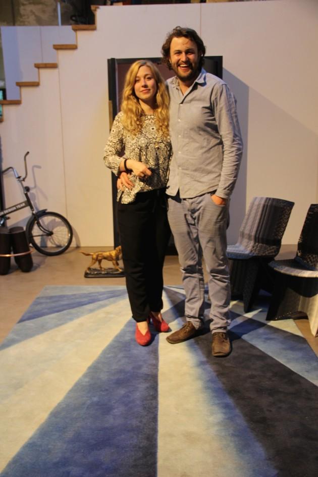 Dirk Vander Kooij en Marleen Kurvers opening feest Zaandam_foto Gimmii Corien Juffer