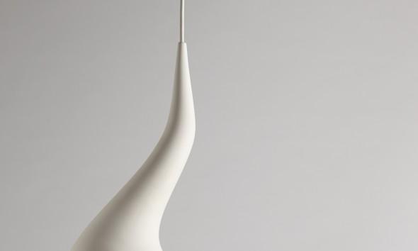 Dollop hanglamp wit van Ash Allen