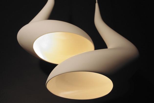 Dollop lamp Ash Allen twee onderkant