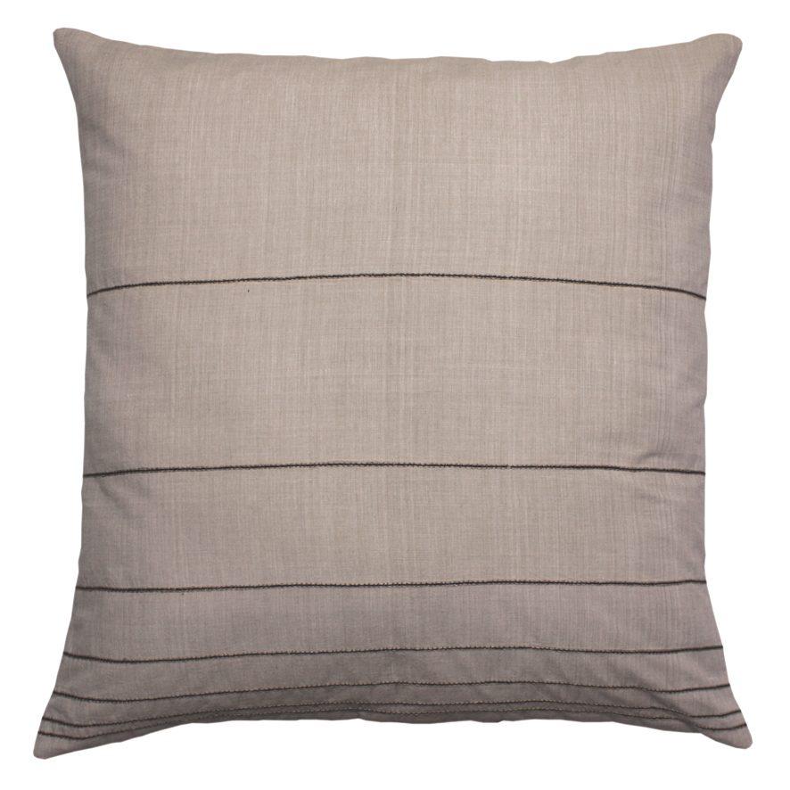 Fibonacci Fabrics cushion talo uni beige Vij5
