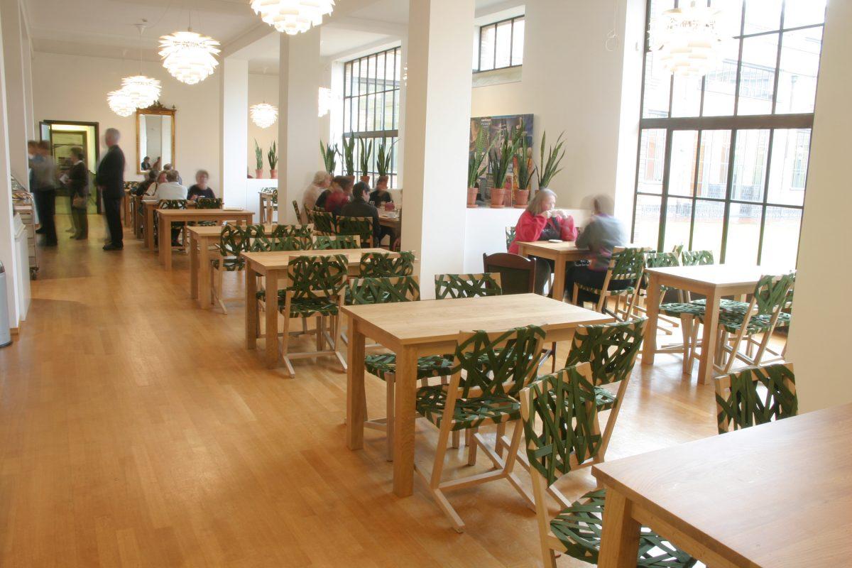 Gispen-Berlage-stoel-groen-restaurant