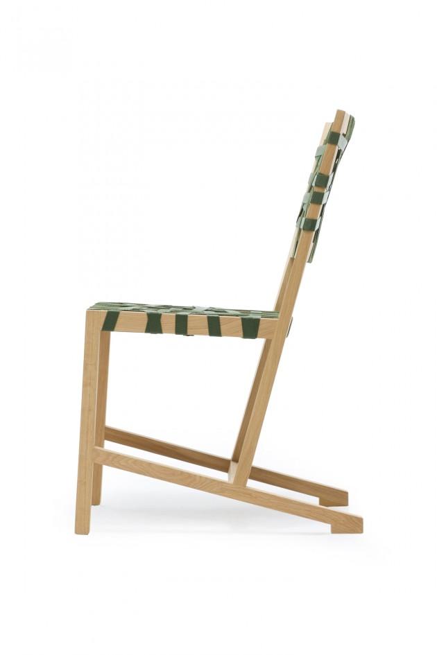 Gispen Berlage stoel groene zitting