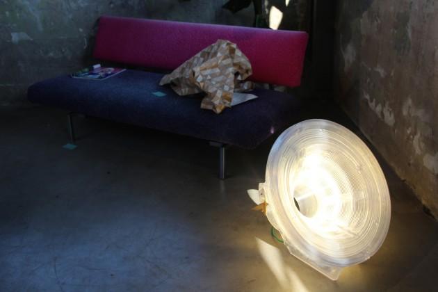 Dirk van der Kooij Sattelite lamp 3D foto Gimmii