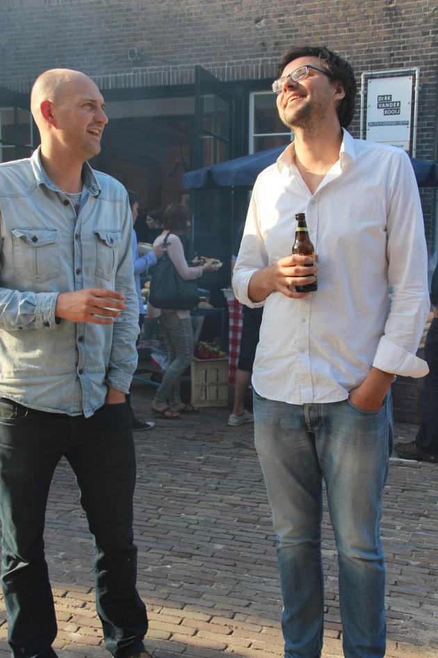 Willem van der Kooij en Wilfred Stegeman van Gimmii
