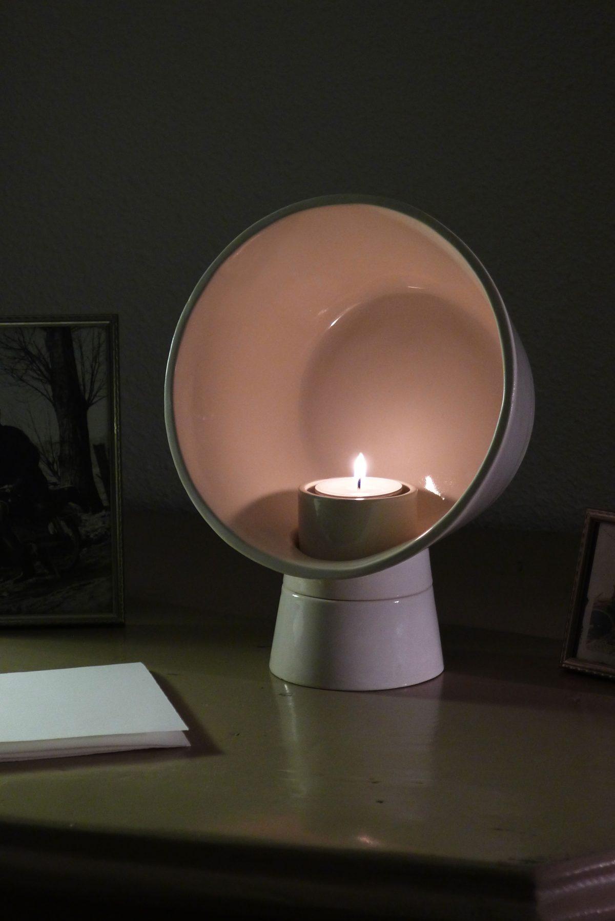 Kranen / Gille BASE T Bowl waxinelichthouder candlebowl