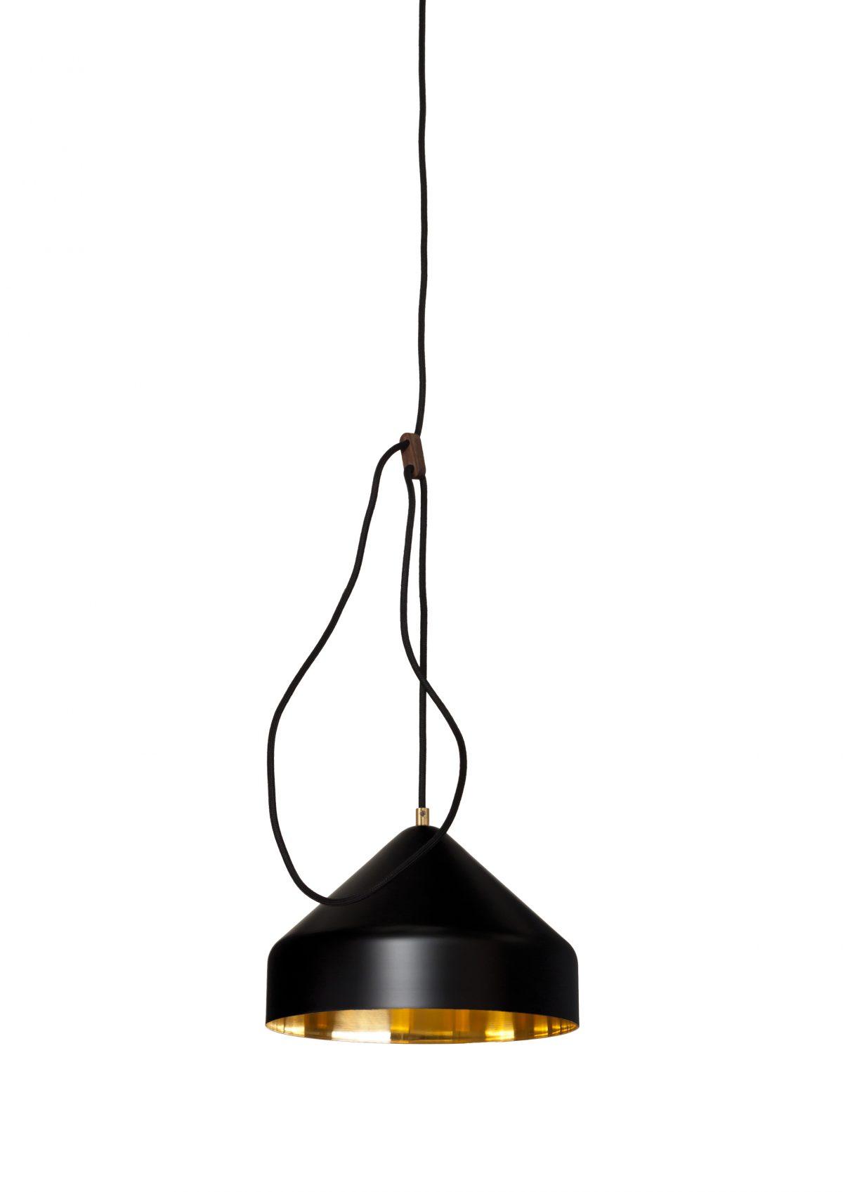 Llus lamp zwart messing Lloop brass black RAL9005 Ontwerpduo & Vij5 – Gimmii