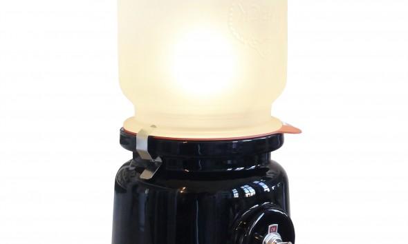 Meck lamp black van Kranen Gille voor Cor Unum