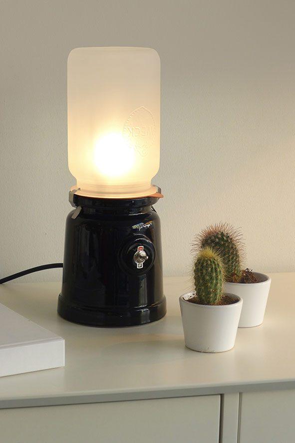 Meck  lamp zwart interieur van Kranen Gille