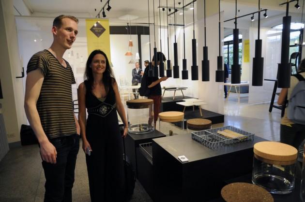 Treasure tables SkyLight hanglampen Texture trays Frederik Roije met Corien Juffer en Jorrit Taekema_foto Gimmii