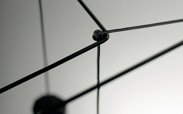 Wireflow by Arik Levy for Vibia detail
