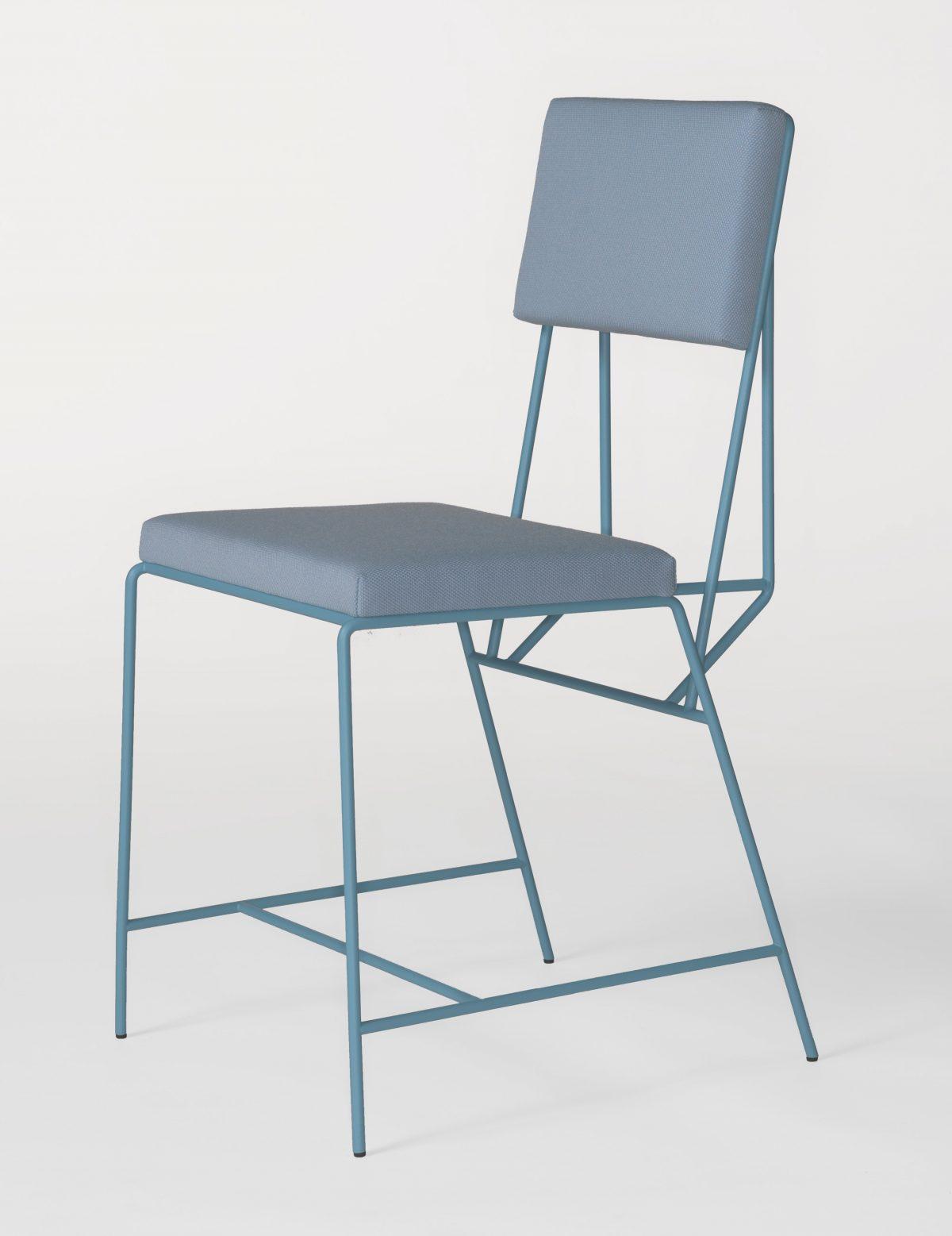 Hensen stoel blauw Kranen/Gille New Duivendrecht