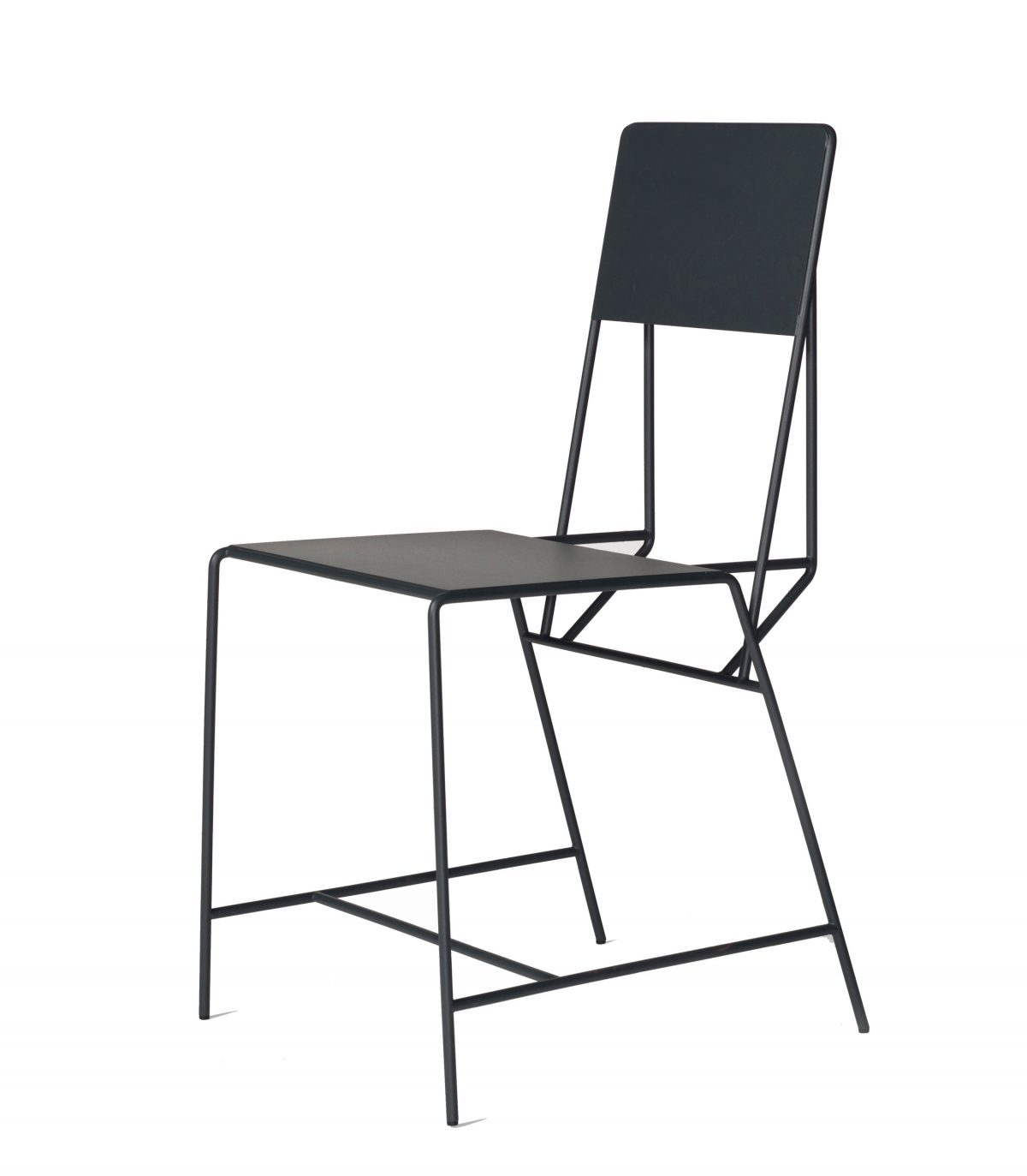 Hensen Chair zwart staal