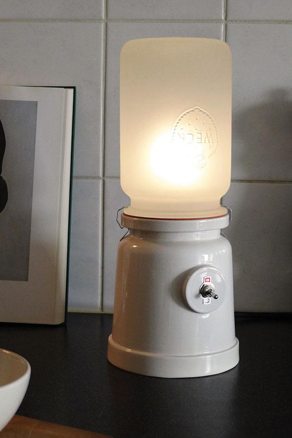 Meck lamp interieur wit van  Kranen/Gille voor Cor Unum