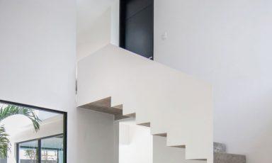 Architectuur met verschillend beton