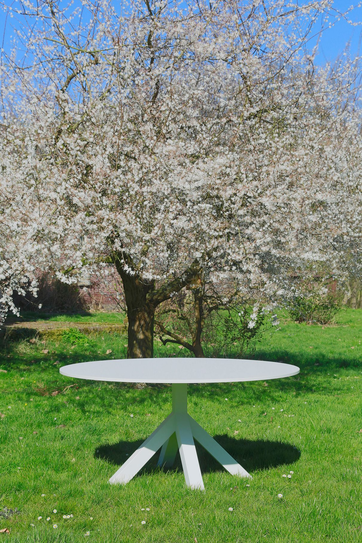 Veelzijdige ronde tafel Dukdalf Gispen