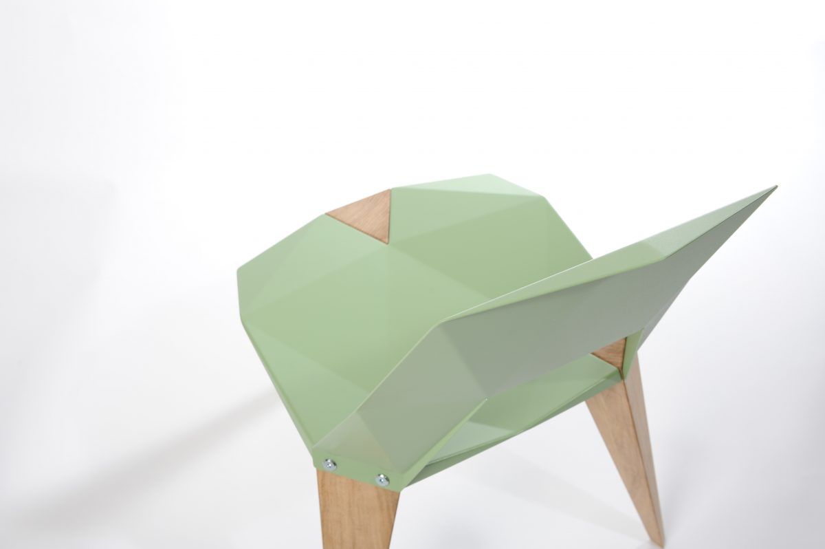 Sander Mulder Pythagoras stoel bovenaanzicht