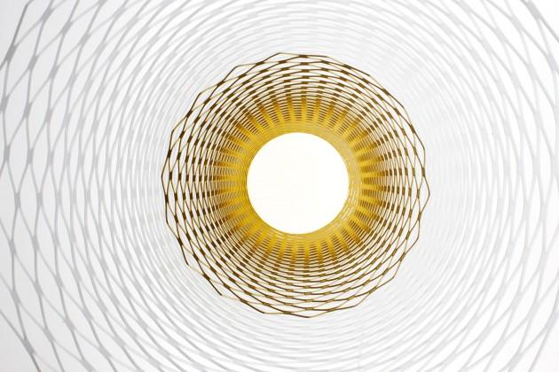 Slingerlamp hanglamp van Richard Hutten voor Gispen