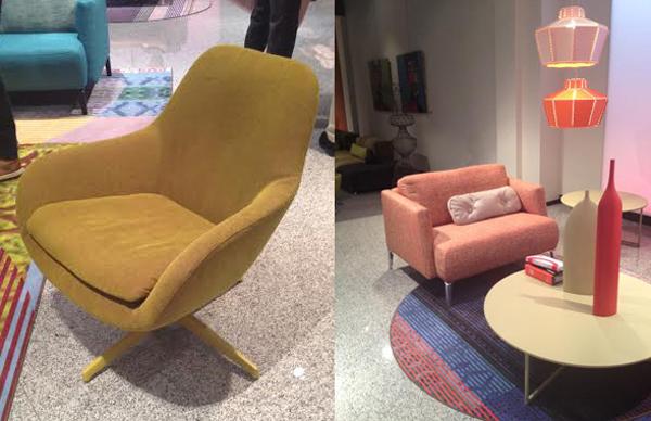 Sparkle fauteuil Pode ronde vormen