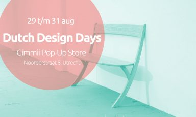 Save the date! Dutch Design Days 29-31 August 2014