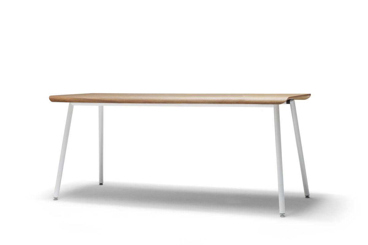 Non Divide tafel bureau Gispen notenhout blad – gimmii shop