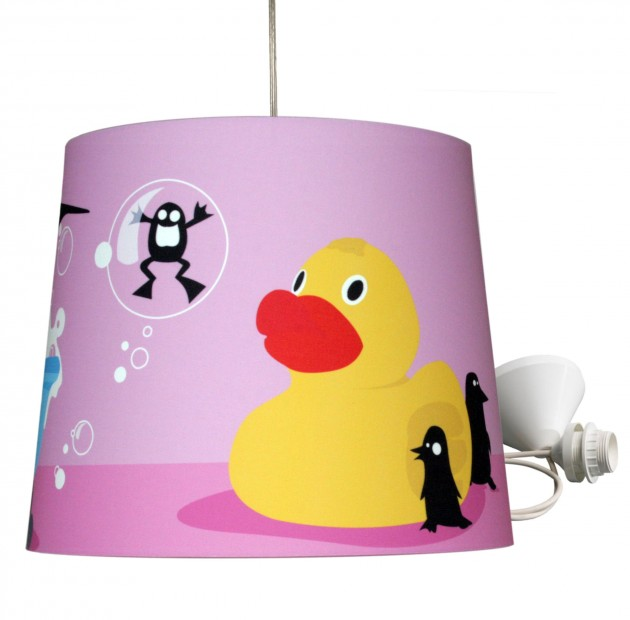 Vreemde Vogels VV4 kinderlamp bad