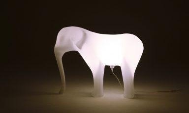Lichtgevende olifanten van Gispen