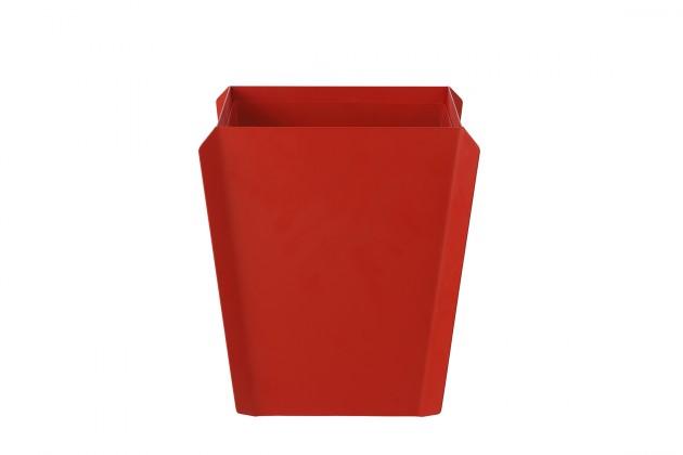 Binit prullenbak rood van Gispen