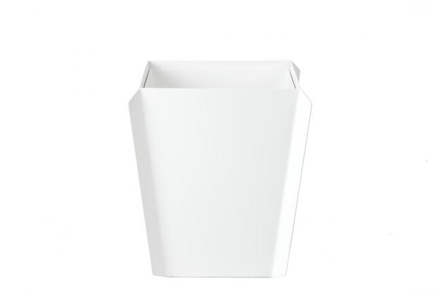 Binit prullenbak wit van Gispen
