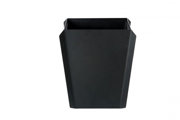 Binit prullenbak zwart van Gispen