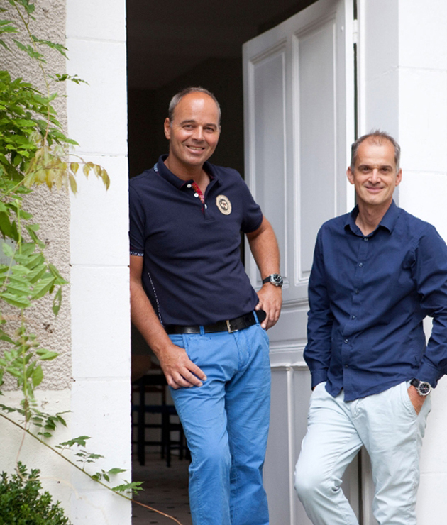 Johan Bouman en Pieter Franssens