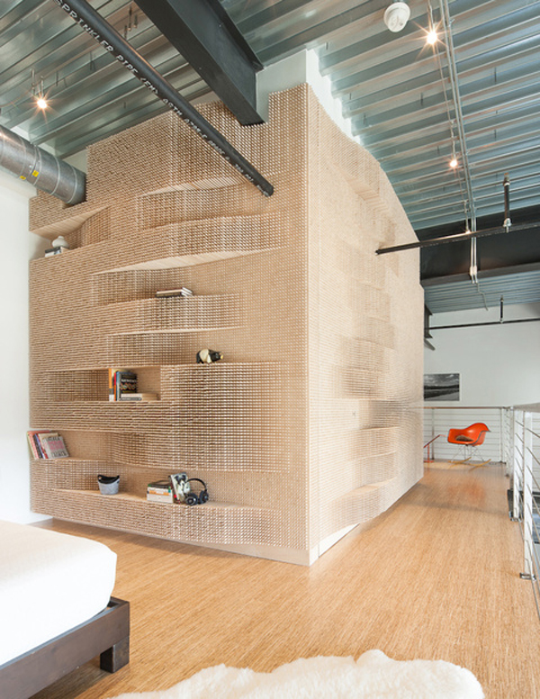 Catch a wave shelf full view van Merge Architects